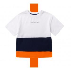 刺繡針織棉T