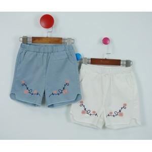 時尚繡花短褲