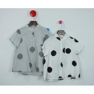 棉麻時尚印花襯衫