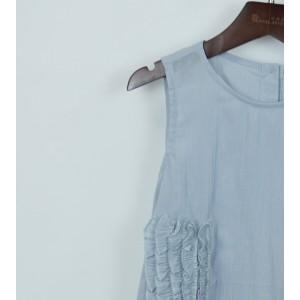 時尚荷葉邊連身裙