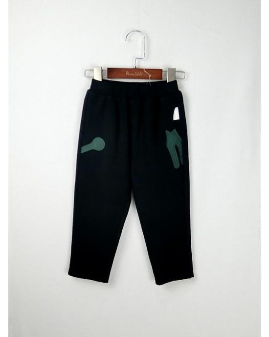 休閒直筒褲