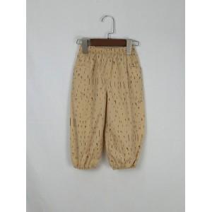 花版燈籠褲
