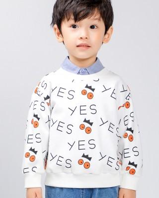 時尚印花襯衫