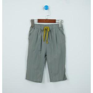 棉質提花七分褲