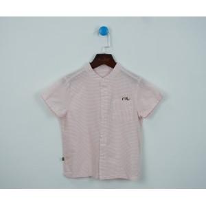 簡約刺繡花襯衫
