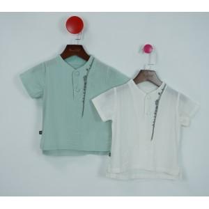 棉質復古套頭衫