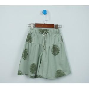 圓點七分褲裙
