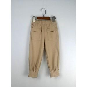 口袋造型束腳褲