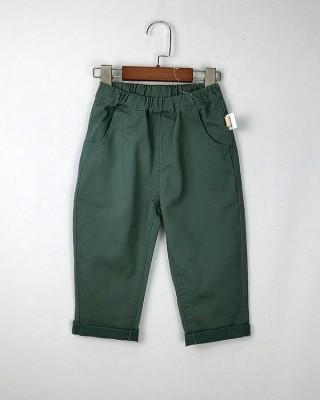 淨色斜紋褲