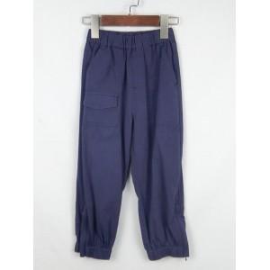 休閒寬版束腳褲