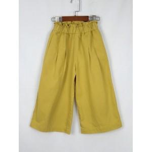 簡約長版寬褲