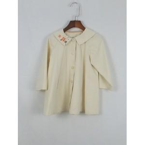 小花刺繡外套
