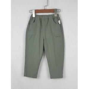 休閒寬版褲