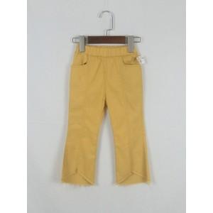 時尚簡約喇叭褲