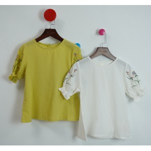 棉質刺繡娃娃衫