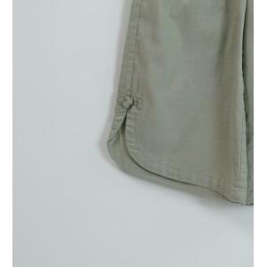 棉麻直筒褲