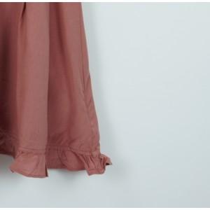 簡約花邊吊帶裙